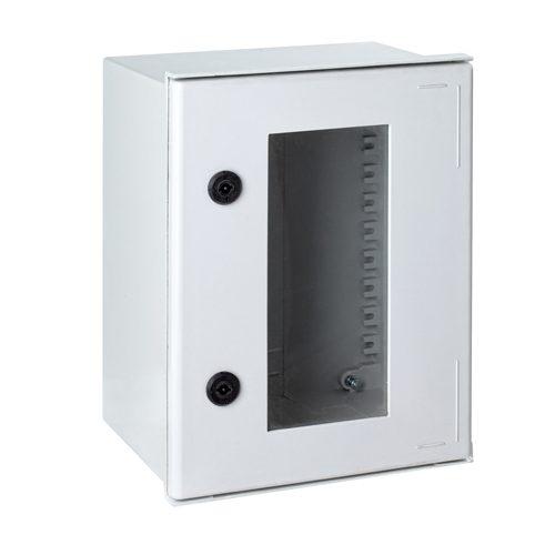 Kasten met transparante deur IP66