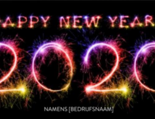 Het nieuwe jaar is begonnen